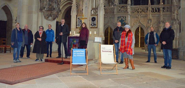 Aufnahme aus dem Magdeburger Dom