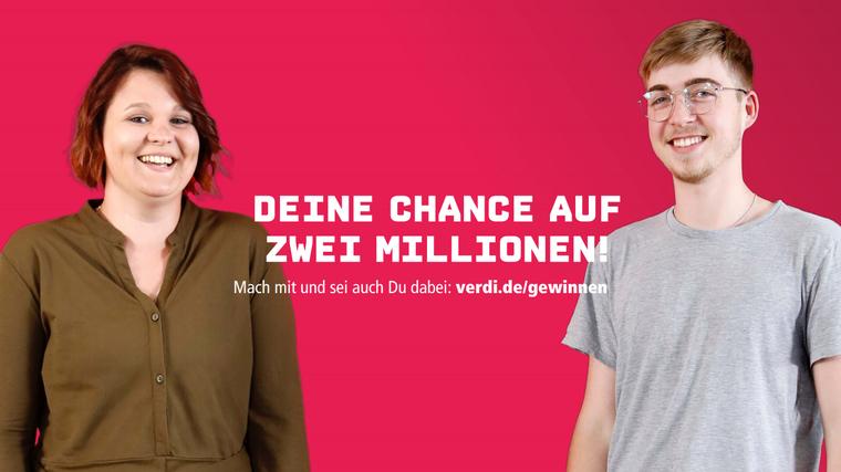 Kampagnenfoto Deine Chance auf 2 Millionen