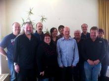 Gruppenfoto der Mitglieder der LFG