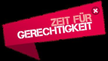 Bundestagswahlen - Zeit für Gerechtigkeit