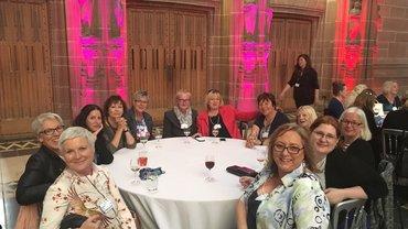 Die Frauen in ver.di auf der 5. Weltfrauenkonferenz in Liverpool (2018)