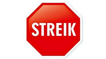 Streik Stoppschild